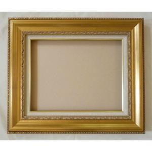 額縁 オーダーメイド額 オーダーフレーム 油絵額縁 油彩額と泥足とケース(仮縁仕上げ) ティンベル サイズM120号 組寸サイズ3400|touo