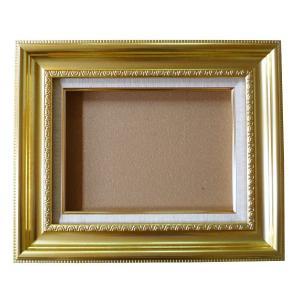 額縁 オーダーメイド額 オーダーフレーム 油絵額縁 油彩額と泥足とケース(仮縁仕上げ) X51 サイズP50号 組寸サイズ2200|touo