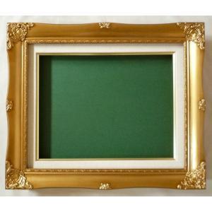油絵額縁 油彩額縁 油絵用額縁 油彩用額縁 木製 637 サイズF12号 touo