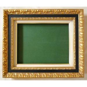 油絵額縁 油彩額縁 アートフレーム 木製 9945 サイズF30号|touo