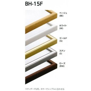 額縁 正方形の額縁 木製フレーム アルミフレーム BH-15F サイズ350画|touo