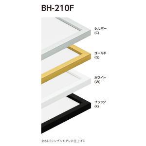 額縁 正方形の額縁 アルミフレーム アルミフレーム BH-210F サイズ500画|touo