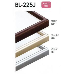 額縁 デッサン額縁 アルミフレーム BL-225J サイズMO判|touo