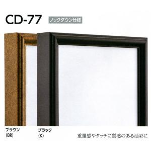 仮縁 正方形の額 アルミフレーム CD-77 サイズS15号 touo