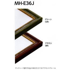 額縁 デッサン額縁 アルミフレーム MH-E36J サイズMO判|touo