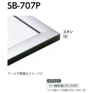 額縁 デッサン額縁 アルミフレーム SB-707P サイズ特全判|touo