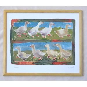絵画 インテリア アートポスター 壁掛け ヨーロッパ製 (額縁 アートフレーム付き) 四ッ切サイズ -16-特価-|touo