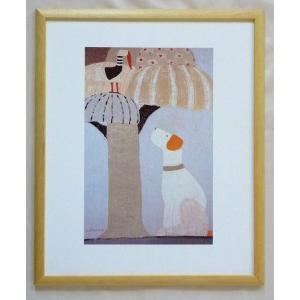 絵画 インテリア アートポスター 壁掛け ヨーロッパ製 (額縁 アートフレーム付き) 四ッ切サイズ -20-特価-|touo