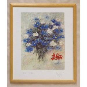 絵画 インテリア アートポスター 壁掛け ヨーロッパ製 (額縁 アートフレーム付き) 四ッ切サイズ -25-特価-|touo