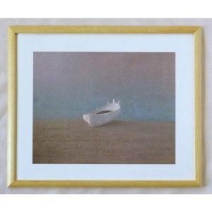 絵画 インテリア アートポスター 壁掛け ヨーロッパ製 (額縁 アートフレーム付き) 四ッ切サイズ -31-特価-|touo