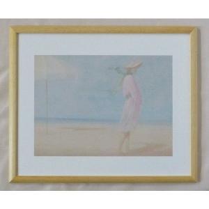 絵画 インテリア アートポスター 壁掛け ヨーロッパ製 (額縁 アートフレーム付き) 四ッ切サイズ -39-特価-|touo