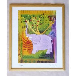 絵画 インテリア アートポスター 壁掛け ヨーロッパ製 (額縁 アートフレーム付き) 四ッ切サイズ -8-特価-|touo