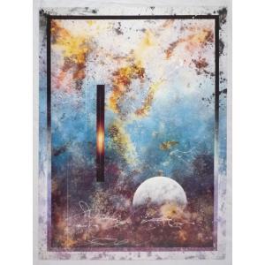 ヨーロッパ製 メタリックアートポスター P.Walden「Companionl」 シ−トサイズ60X80cm 特価|touo