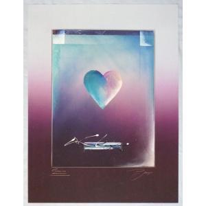 ヨーロッパ製 メタリックアートポスター Joezen「Love」 シ−トサイズ60X80cm 特価|touo
