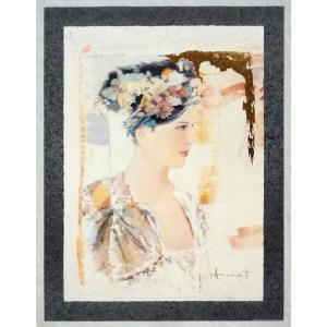 ヨーロッパ製 メタリックアートポスター Archetti 「Ritorno」 シ−トサイズ60X80cm 特価|touo