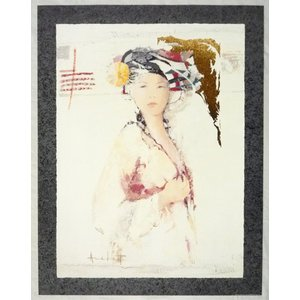 ヨーロッパ製 メタリックアートポスター Archett「Fascino」 シ−トサイズ60X80cm 特価|touo