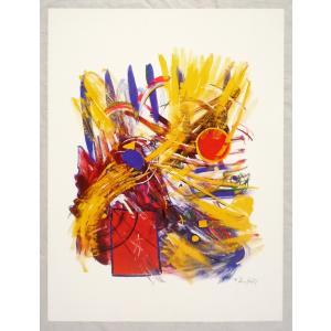 ヨーロッパ製 メタリックアートポスターThomas「Bias」 シ−トサイズ60X80cm特価|touo