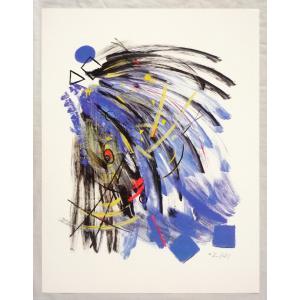 ヨーロッパ製 メタリックアートポスター Thomas 「Cataract」 シ−トサイズ60X80cm 特価|touo