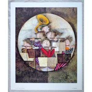 アメリカ製アートポスター ロド・ブランジェ作 GB7731 シ−トサイズ79X65cm 特価|touo