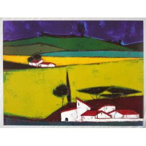 ヨーロッパ製アートポスター ボナフェ作 1335 シ−トサイズ60X80cm 特価|touo