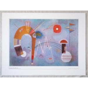 ヨーロッパ製アートポスター カンディンスキー作 11429 シ−トサイズ60X80cm 特価|touo