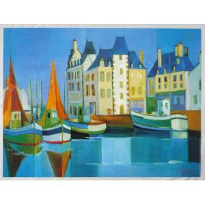 ヨーロッパ製アートポスター アンドレ・デュレ作 1338 シ−トサイズ60X80cm 特価|touo