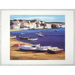 ヨーロッパ製アートポスター キリチ作 1277 シ−トサイズ60X80cm 特価|touo