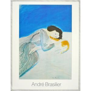 ヨーロッパ製アートポスター ブラジリエ作[Le Repos」 CA49 シ−トサイズ60X80cm 特価|touo