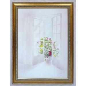 絵画 インテリア アートポスター 壁掛け ヨーロッパ製 (額縁 アートフレーム付き) シートサイズ50X70cm -12-特価-|touo