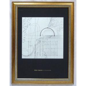 絵画 インテリア アートポスター 壁掛け ヨーロッパ製 (額縁 アートフレーム付き) シートサイズ50X70cm -27-特価-|touo