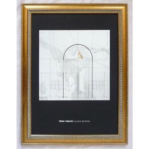 絵画 インテリア アートポスター 壁掛け ヨーロッパ製 (額縁 アートフレーム付き) シートサイズ50X70cm -33-特価-|touo