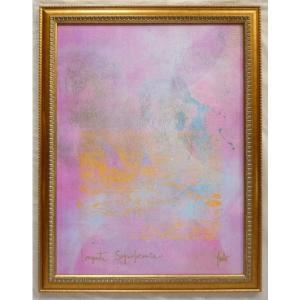 絵画 インテリア アートポスター 壁掛け ヨーロッパ製 (額縁 アートフレーム付き) シートサイズ60X80cm -12-特価-|touo