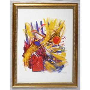 絵画 インテリア アートポスター 壁掛け ヨーロッパ製 (額縁 アートフレーム付き) シートサイズ60X80cm -14-特価-|touo