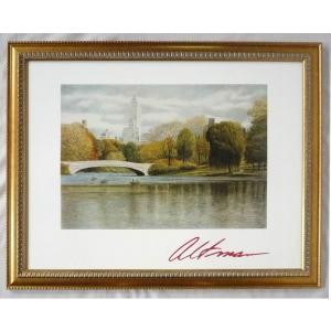 絵画 インテリア アートポスター 壁掛け ヨーロッパ製 (額縁 アートフレーム付き) シートサイズ60X80cm -17-特価-|touo