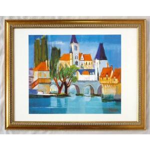 絵画 インテリア アートポスター 壁掛け ヨーロッパ製 (額縁 アートフレーム付き) シートサイズ60X80cm -20-特価-|touo