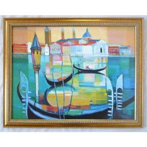 絵画 インテリア アートポスター 壁掛け ヨーロッパ製 (額縁 アートフレーム付き) シートサイズ60X80cm -22-特価-|touo