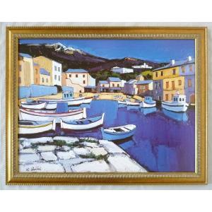 絵画 インテリア アートポスター 壁掛け ヨーロッパ製 (額縁 アートフレーム付き) シートサイズ60X80cm -26-特価-|touo