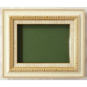 油絵額縁 油彩額縁 アートフレーム MJ105 F4|touo