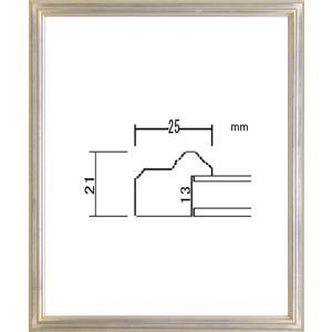 額縁 デッサン額 木製フレーム PF102B 太子サイズ|touo