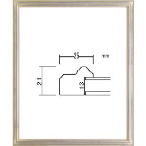 額縁 デッサン額 木製フレーム PF102B 八ッ切サイズ|touo