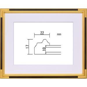 額縁 水彩額 木製フレーム アクリル仕様 PF102C サイズF4号|touo