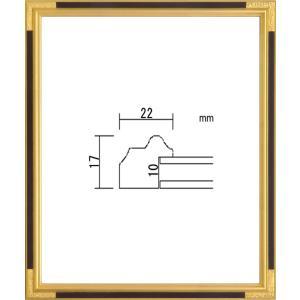 額縁 デッサン額 木製フレーム PF102C 八ッ切サイズ|touo