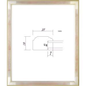 額縁 デッサン額 木製フレーム PF102E 八ッ切サイズ|touo