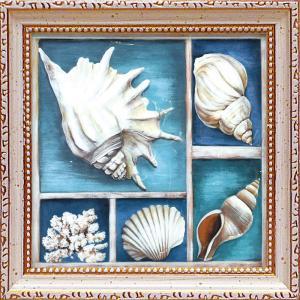 絵画 インテリア アートポスター 壁掛け (額縁 アートフレーム付き)付 テッド ブルーム「コレクション オブ メモリーズ3」|touo