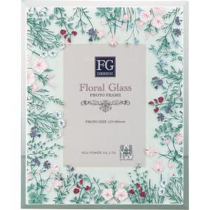 FGデザイン フォトフレーム「ワイルド フラワー ピンク」|touo