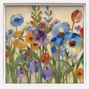 絵画 インテリア アートポスター ロハス ミニアートフレーム シルビア ヴァシレヴァ「サンライズ ガーデン2」|touo