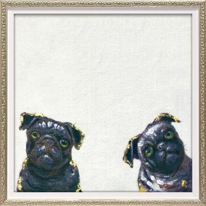 絵画 油絵 肉筆絵画 壁掛け (額縁 アートフレーム付き) オイル ペイント アート「ワンダ(Sサイズ)」|touo