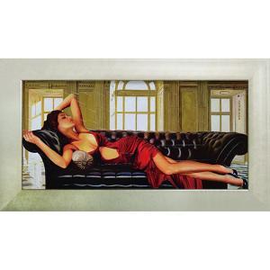 絵画 インテリア アートポスター 壁掛け (額縁 アートフレーム付き)付 ピエール ベンソン「ディバイン」|touo