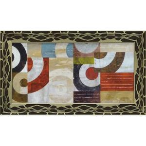 絵画 インテリア アートポスター 壁掛け (額縁 アートフレーム付き)付 サンドロ ナヴァ「カルーセル」 touo