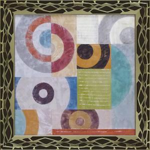 絵画 インテリア アートポスター 壁掛け (額縁 アートフレーム付き)付 サンドロ ナヴァ「ウェーブ1」 touo